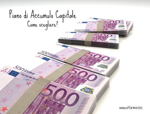 Piano di accumulo capitale