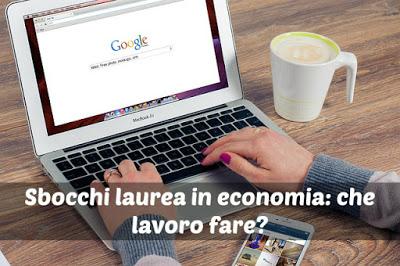 Sbocchi Laurea in Economia