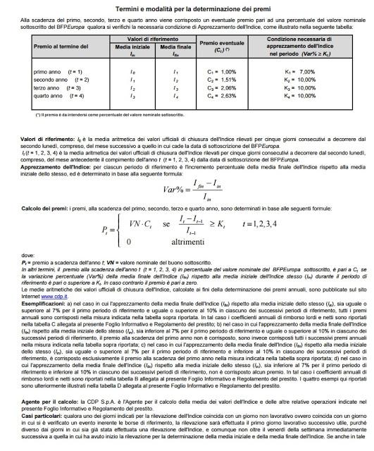 BFP Europa Calcolo Interessi