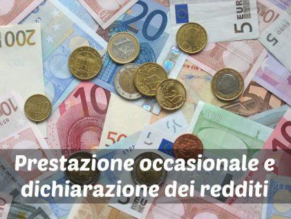 Prestazione Occasionale e Dichiarazione Dei Redditi