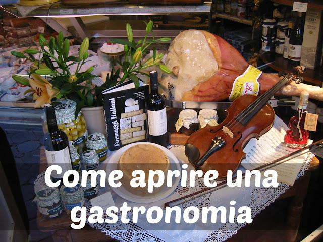 aprire una gastronomia