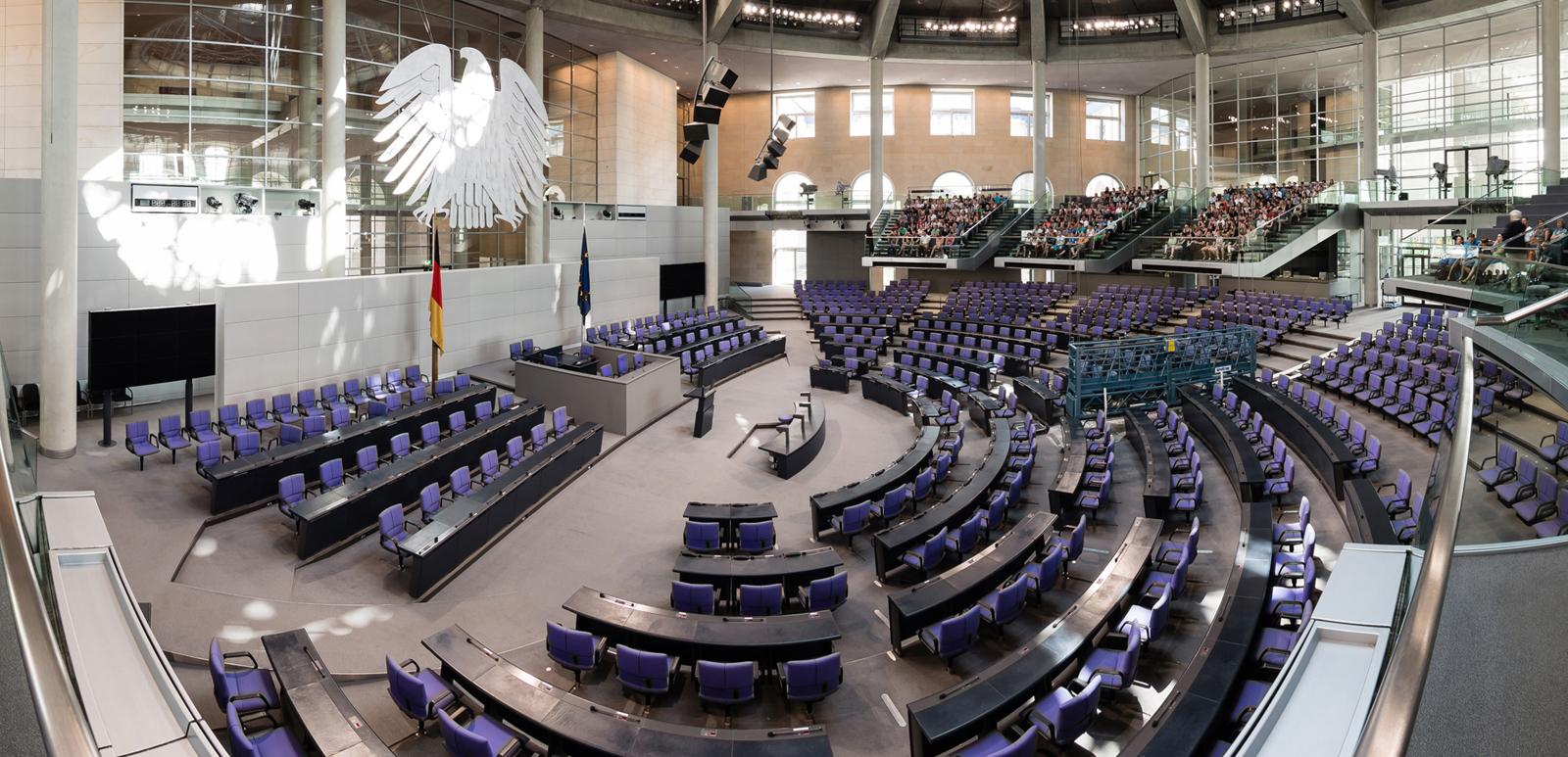 Parlamento tedesco bundestag e bundesrat affari miei for Numero legale parlamento