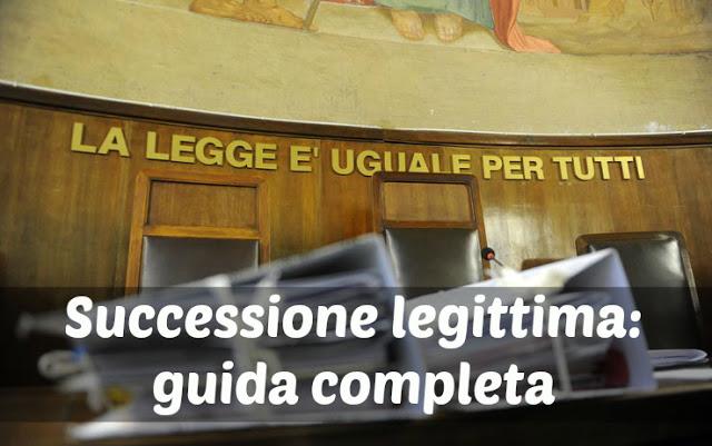 Ascendenti legittimi cool guida al e with eredi legittimi for Successione legittima fratelli