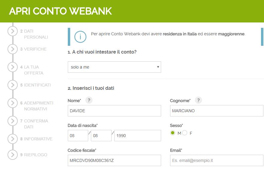 bf63dd0986 Conto Webank: Opinioni sul Conto Online - 120€ di Bonus di Benvenuto!!!
