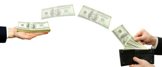 Geldtransfer