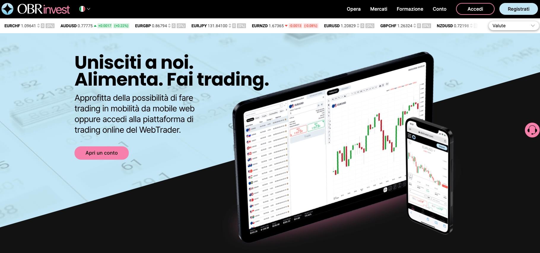 conto trading più conveniente