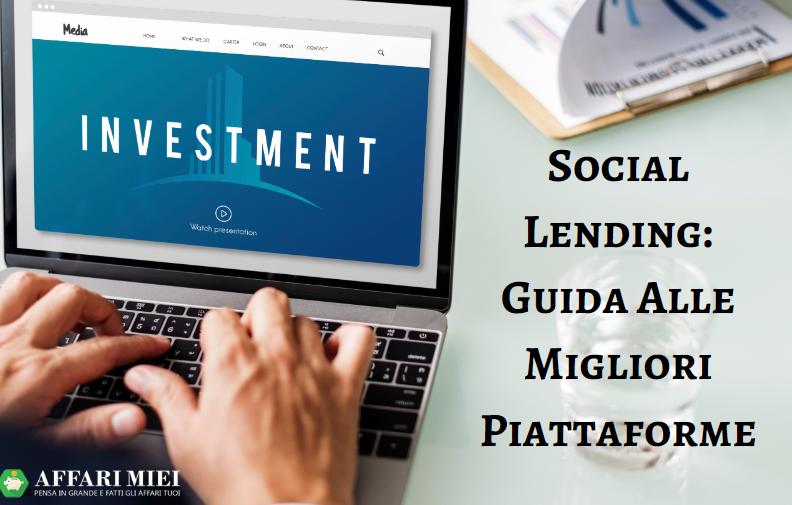 Social lending: guida alle migliori piattaforme di prestiti online