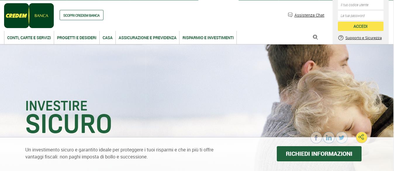 Credem Conto Online I Migliori Conti Correnti Alterweb It